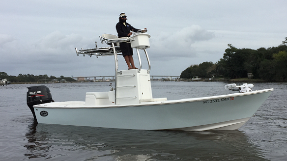 Long Overdue Charters New Boat